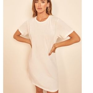 Reformation Iggy Tee dress